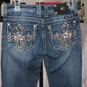 MISS ME BOOT CUT JEANS SIZE 26/32